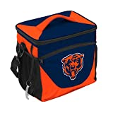 logobrands NFL Chicago Bears Cooler 24 Can, Team Colors, One Size