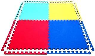 8 x Suelos Para Niños Y Infantiles EVA Puzzle Colchonetas 60 Centímetros x 60  Centímetros x12mm Con Reverso Antideslizante, Certificacion Libre De Toxicos
