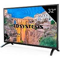 Televisor Led 32 Pulgadas HD Smart, TD Systems K32DLM8HS. Resolución 1366 x 768, 3X HDMI, VGA, 2X USB, Smart TV.