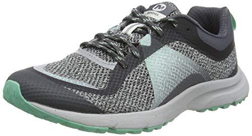 Merrell Banshee, Zapatillas de Running para Asfalto para Mujer, Gris (High Rise), 38 EU