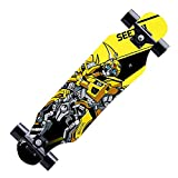Z-Meng Longboard Skateboard, Longboard Completi di 31 Pollici PRO, Longboard da Crociera da Intaglio in Acero A 7 Strati, per Crociera, Intaglio, Freestyle E Downhill