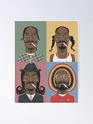 AZSTEEL Póster de la evolución de Snoop Dogg