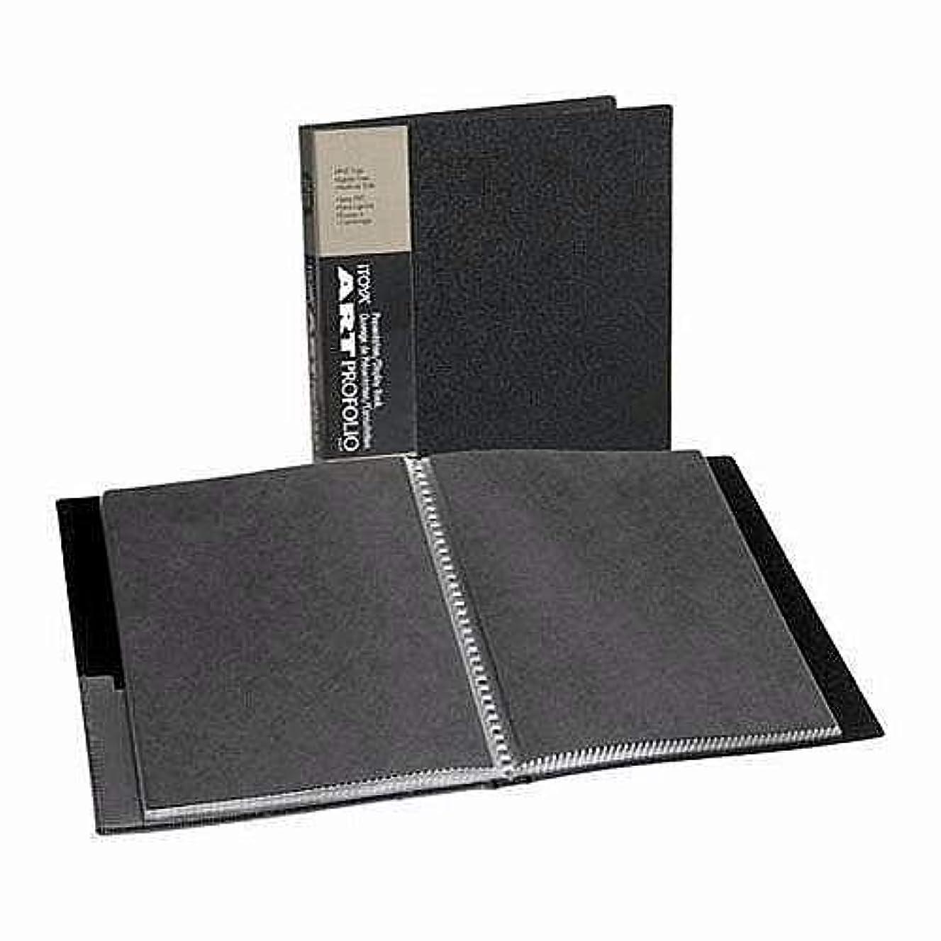 Itoya Art Profolio Storage/Display Book 8 in. x 10 in. 24