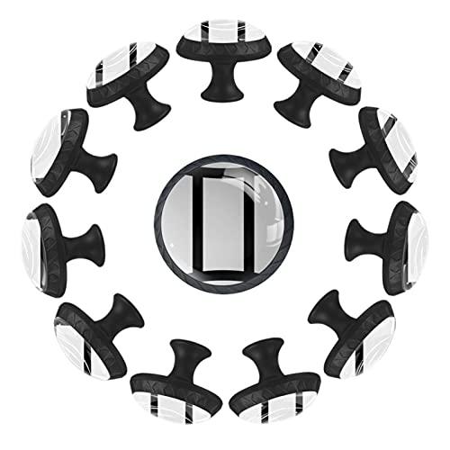 12 maniglie Gemini per armadietti, cassetti, per cucina, armadio, bagno, camera da letto