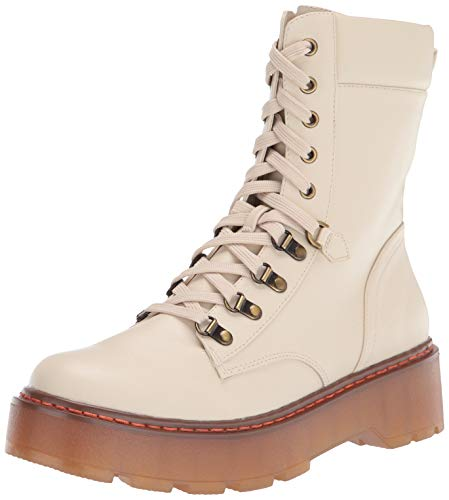 Circus by Sam Edelman womens Sanders Mid Calf Boot, Ivory, 7.5 US