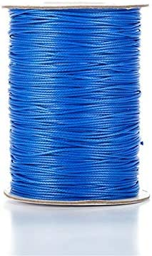 Cheap Max 59% OFF Laliva 0.5mm 90 Yards Colorful Waxed Rope Threads Bead for Cords