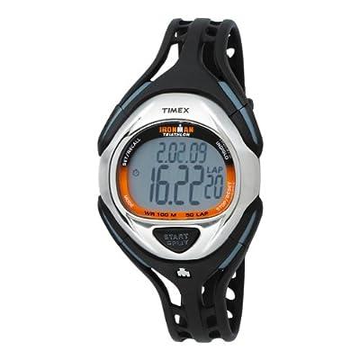 Timex Men's T5H391 Ironman Sleek 50-Lap Resin Strap Watch