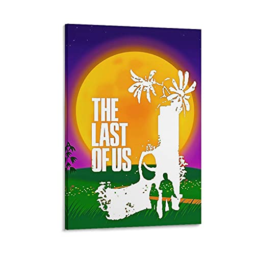 Game Character The Last of Us5 Leinwand-Kunst-Poster und Wand-Kunstdruck, modernes Familienschlafzimmerdekor, 20 x 30 cm