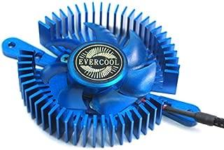 EVERCOOL Mini Universal LED VGA Cooler Blue SKU: VC-RI-BL