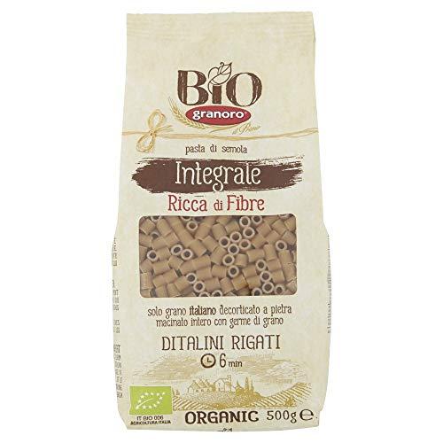 Granoro Ditalini Rigati Integrali Bio 500g