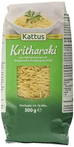 Kattus Kritharaki - Griechische Nudelspezialität, 500 g
