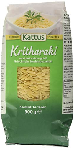 Kattus Kritharaki - Griechische Nudelspezialität, 6er Pack (6 x 500 g)
