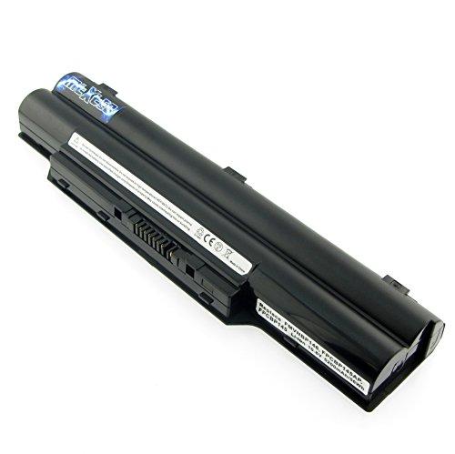 MTXtec Akku, LiIon, 10.8V, 5200mAh, 56Wh schwarz kompatibel für Fujitsu LifeBook E8310, E751, E782, E781, S2210, S561, S6310, S6311, S7110, S7111, CELSIUS H720/H730 PN: FMVNBP146, FPCBP145, FPCBP145AP, FUJITSU SIEMENS CP293530-01, CP556150-01, CP556150-02, CP556150-03, FPB0262, CP293630-02 und baugleiche