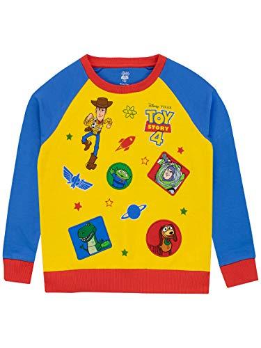 Disney Jungen Toy Story Sweatshirt Mehrfarbig 128
