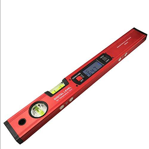 Digitale hoekmessen-hoekzoeker, hellingsmeter, elektronisch niveau 360 graden, zonder magneten, niveau-auhoek-hellingstestlineaal, 400 mm C