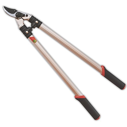 """The Gardener's Friend Loppers, Bypass Action, 24"""", Strong Lightweight Aluminum Handles with Ergonomic Rubberized Grips, for Pruning Trees, Shrubs, Roses, Perennials, Garden Tools"""