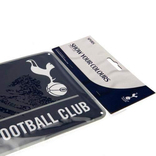 Official Football Merchandise Metallic Sign Street Sign Design for Football Stadium, 40cm x 18cm