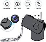 Safety Net Hidden Camera Wireless Mini Spy USB Cam, Ourdoor/Indoor Personal Video Recorder Wearable Small Secret Nanny Camera for Home Security Motion Detection Activated Surveillance Camera Full HD