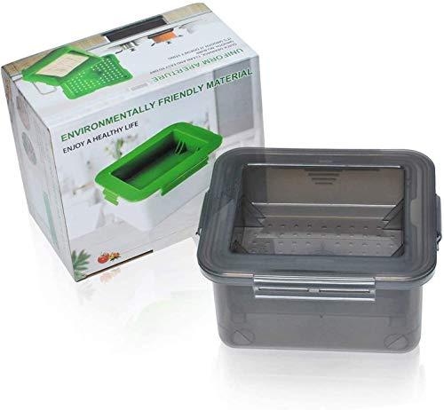 Poweka Prensa de Tofu - Kit de Prensa de Tofu Elimina Fácilmente el Agua del Tofu para Obtener Más Delicioso (Gris)
