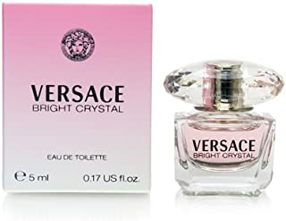 Versace Bright Crystal By Gianni Versace For Women. Eau De Toilette 0.17 Fl Oz Mini