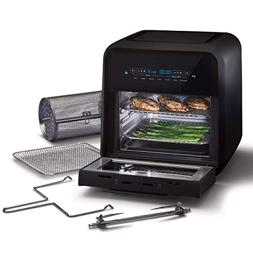 Oster 2086062 Air Fryer Oven & Multi-Cooker, Black (Renewed)