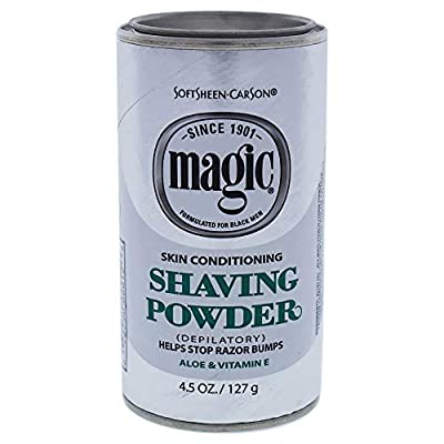 Magic Shave 127 g Skin Conditioning Shaving Powder by Soft Sheen Carson