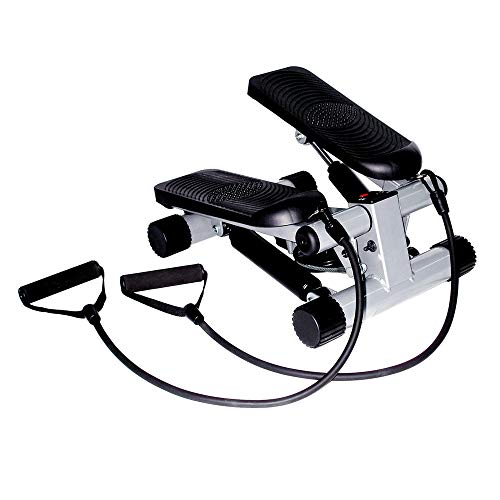 Product Image 5: Sunny Health & Fitness Mini Stepper with Resistance Bands