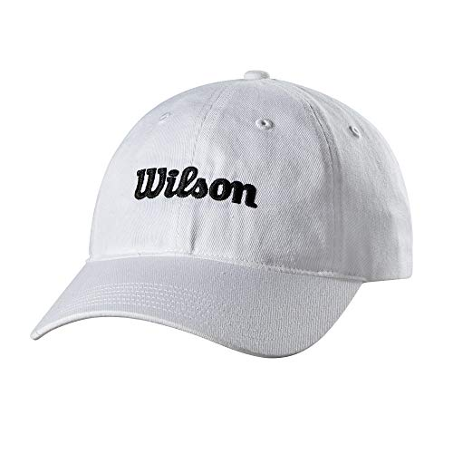 Wilson Sombrero Unisex con Hebilla clásica, Unisex, Gorro/Sombrero, WTA7118WHOSFM, Blanco, Talla única