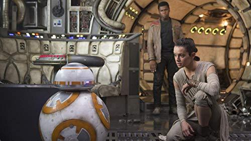 KJHJKH Película de Star Wars/Rey/BB-8 / Finn,Rompecabezas Madera 1000 Comprimidos,Puzzle Creativo,La Mejor Decoración para El Hogar De Bricolaje:(H-50 cm x M/B-75 cm)