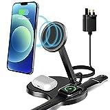 LC.imeeke Chargeur sans fil 3 en 1 avec adaptateur, station de chargement sans fil rapide QI...