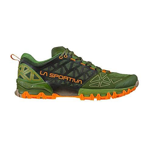 LA SPORTIVA Bushido II, Zapatillas de Senderismo Hombre, Kale/Tiger, 46 EU