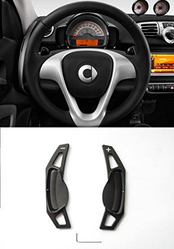 Pinalloy Metall Lenkrad Paddel Shifter für 2007-14 Benz Smart fortwo