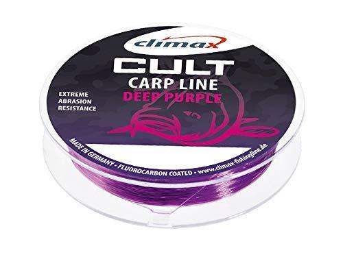 CULT Deep Purple Climax Angelschnur Karpfenschnur Fluorocarbon ummantelt 0,28mm