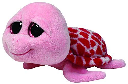 TY 7136110 7136110-Shellby-Schildkröte, 15 cm, pink