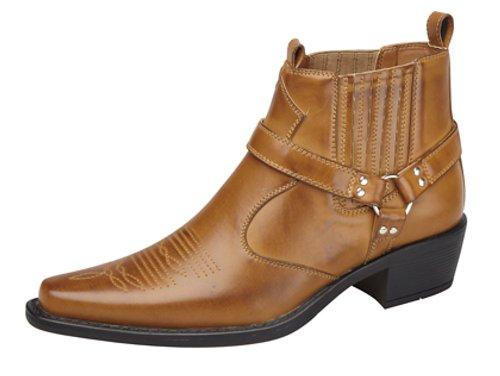Us Brass - Botas para hombre, color marrón, talla 45