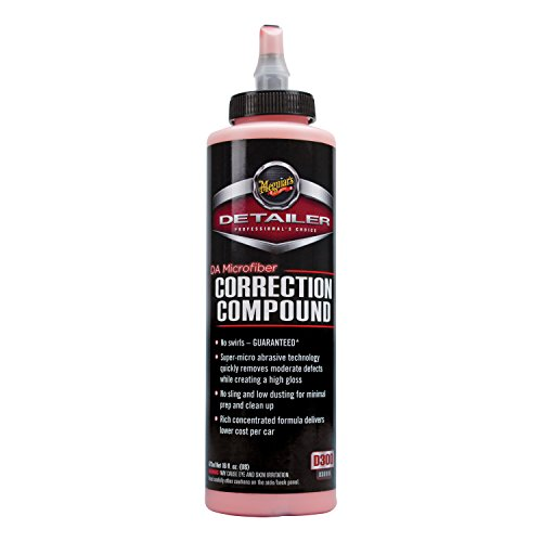 Meguiar's DA Microfiber Correction Compound – Auto Compound Removes Surface Defects – D30016,...