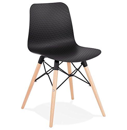 Alterego Chaise scandinave 'Tonic' Noire Design
