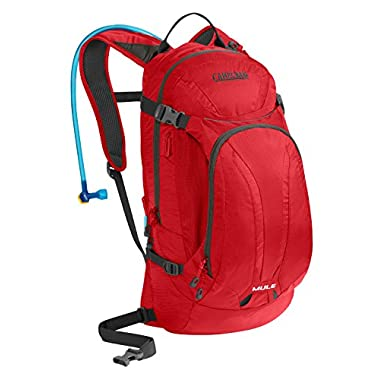 CamelBak 2016 M.U.L.E. Hydration Pack, Barbados Cherry
