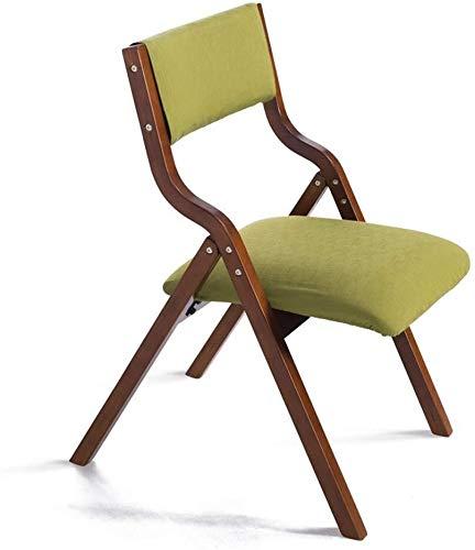 WWWWWWW-DENG barkruk van hout, inklapbaar met rugleuning, kan voor stoel, studio, tafel thuis en op kantoor, eettafel, make-up of kinderen