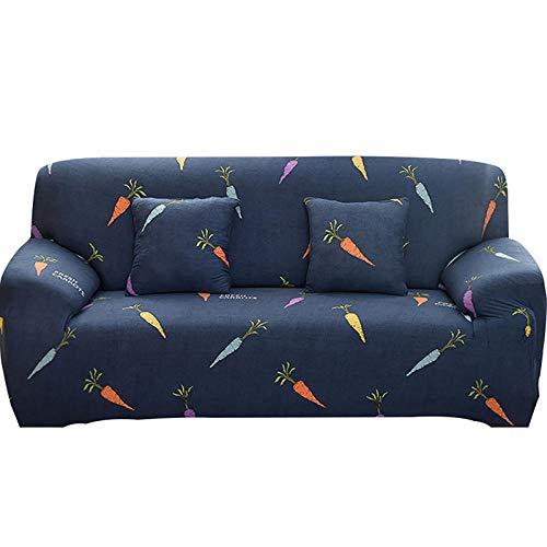 Fodera per divano elastico per soggiorno Fodera per divano elasticizzata antiscivolo Fodera per divano componibile Fodera per poltrona ad angolo a forma di L 1/2/3/4 posti-4_3 posti 190-230 cm