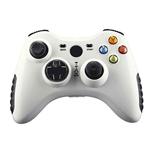 KUANDARGG USB-Lade-Gamepad-Mobilteil, Game Cubes Controllerd, Vibration Gamepad-Fernbedienung, Bluetooth Game Controller Wireless, Bluetooth Game Controller Wireless Gamepad, Weiß, White
