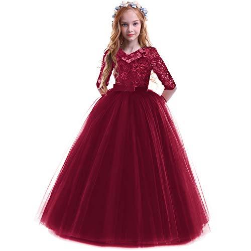 Vestido de princesa para niña, vestido de fiesta, boda, dama de honor,...