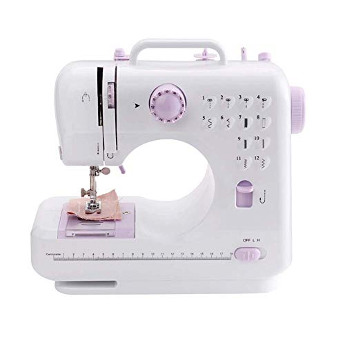 Mini Machines à Coudre à Main Outil De Couture Domestique pour Débutants Double Fil à Double Vitesse De Réglage avec Pédale Multifonction Simple Et Facile à Utiliser Noël Présent