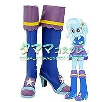 トリクシー マイリトルポニー My Little Pony Trixie コスプレ 靴 ブーツ コスプレ靴 cosplay オーダーサイズ/スタイル 製作可能 【タママ】(23cm)