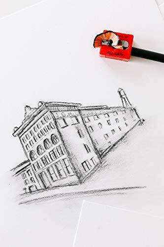 General Pencil All-Art Sharpener, Pack of 3, Little Red (S6503BP)