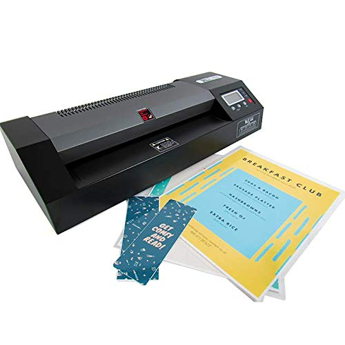 """TruLam Office Laminator, Thermal & Cold Pouch, 12.5"""" Max Width, 3 Mil-10 Mil, TL-320E"""