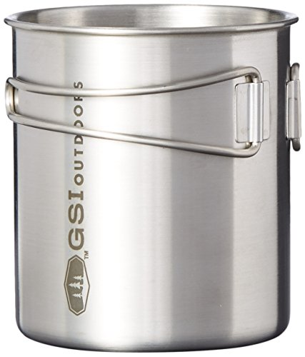 GSI Outdoors - Glacier Stainless Bottle Pot 24 oz (68215)