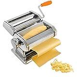 Sotech Machine pour Faire des Pâtes, Machine à Pâtes, Spaghettis, tagliatelles, lasagnes, 6 réglages d'épaisseur de 0,5 à 3 mm