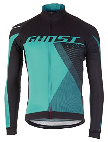Ghost Performance Evo Jersey Long (XL, blau)