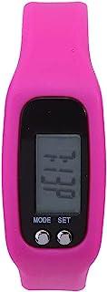 Alomejor Contador de Pasos Pulsera Inteligente Reloj Pulsera Contador de calorías Podómetro Deportes Rastreador de Ejercicios